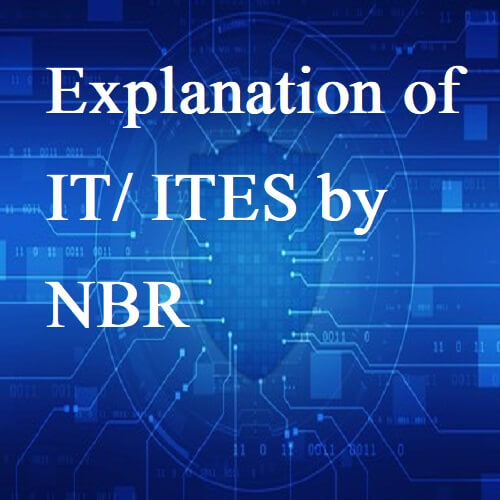 Explanation of IT/ITES by NBR